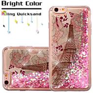 *SALE* Quicksand Glitter Transparent Case for iPhone 6 Plus / 6S Plus - Eiffel Tower