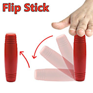 Wood Fidget Flipping Stick Rollover Toy - Red