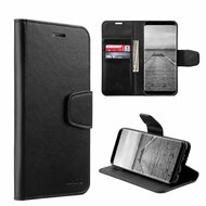 Urban Classic Leather Wallet Case for Samsung Galaxy S8 Plus - Black