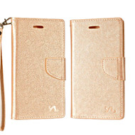 *SALE* Diary Leather Wallet Case for ZTE Max XL / Blade Max 3 - Rose Gold