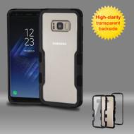 TUFF Vivid Hybrid Armor Case for Samsung Galaxy S8 - Black