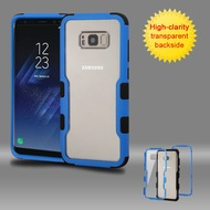 TUFF Vivid Hybrid Armor Case for Samsung Galaxy S8 - Blue