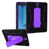 *Sale* Explorer Impact Armor Kickstand Hybrid Case for Samsung Galaxy Tab S3 9.7 - Black Purple