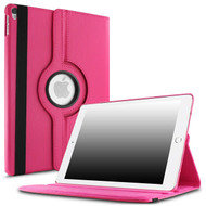 360 Degree Smart Rotary Leather Case for iPad Pro 10.5 inch - Hot Pink