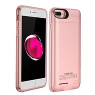 *SALE* Smart Power Bank Battery Case 4200mAh for iPhone 8 Plus / 7 Plus / 6S Plus / 6 Plus - Rose Gold