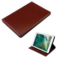 Book-Style Leather Folio Case for iPad Pro 10.5 inch - Brown