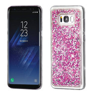 Desire Bling Bling Crystal Cover for Samsung Galaxy S8 - Rhinestones Hot Pink