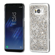 Desire Bling Bling Crystal Cover for Samsung Galaxy S8 Plus - Rhinestones Silver