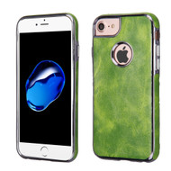 Luxury Leather Fusion Case for iPhone 8 / 7 / 6S / 6 - Green