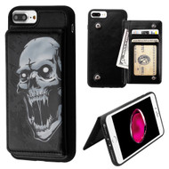 Pocket Wallet Case with Stand for iPhone 8 Plus / 7 Plus / 6S Plus / 6 Plus - Vampire