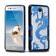 TUFF Panoview Transparent Hybrid Case for LG Aristo / Fortune / K8 2017 / Phoenix 3 - Dragon
