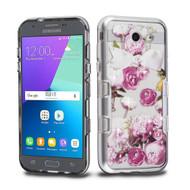 TUFF Panoview Case for Samsung Galaxy J3 (2017) / J3 Emerge / J3 Prime / Amp Prime 2 / Sol 2 - Roses