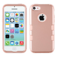 Military Grade Certified TUFF Hybrid Armor Case for iPhone 5C - Rose Gold