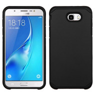 Hybrid Multi-Layer Armor Case for Samsung Galaxy J7 (2017) / J7 V / J7 Perx - Black