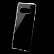 Rubberized Crystal TPU Case for Samsung Galaxy Note 8 - Clear
