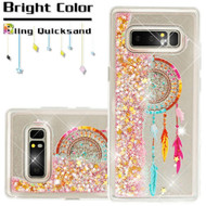 Quicksand Glitter Transparent Case for Samsung Galaxy Note 8 - Dreamcatcher