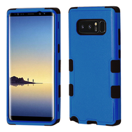 Military Grade Certified TUFF Hybrid Armor Case for Samsung Galaxy Note 8 - Blue