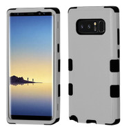 Military Grade Certified TUFF Hybrid Armor Case for Samsung Galaxy Note 8 - Grey