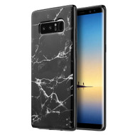 Marble TPU Case for Samsung Galaxy Note 8 - Black