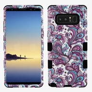 Military Grade Certified TUFF Hybrid Armor Case for Samsung Galaxy Note 8 - Persian Paisley