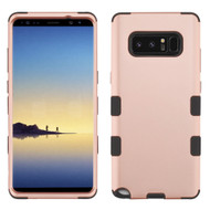 Military Grade TUFF Hybrid Armor Case for Samsung Galaxy Note 8 - Rose Gold