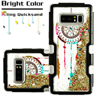 TUFF Quicksand Glitter Hybrid Armor Case for Samsung Galaxy Note 8 - Dreamcatcher