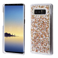 Desire Bling Bling Crystal Cover for Samsung Galaxy Note 8 - Rhinestones Gold