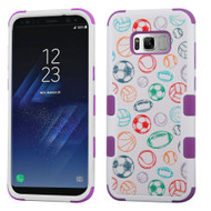 Military Grade Certified TUFF Image Hybrid Armor Case for Samsung Galaxy S8 Plus - Battle Of Balls