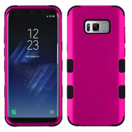 Military Grade Certified TUFF Hybrid Armor Case for Samsung Galaxy S8 Plus - Hot Pink