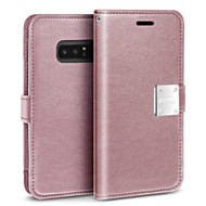 Essential Leather Wallet Case for Samsung Galaxy Note 8 - Rose Gold