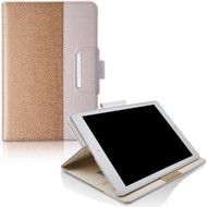 Book-Style 360 Degree Smart Rotating Leather Case for iPad Pro 10.5 inch - Gold