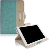 Book-Style 360 Degree Smart Rotating Leather Case for iPad Pro 10.5 inch - Teal