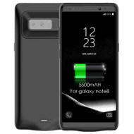 Power Bank Battery Case 5500mAh for Samsung Galaxy Note 8 - Black