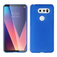 Rubberized Crystal Case for LG V30 / V30+ - Blue