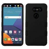 Military Grade Certified TUFF Hybrid Armor Case for LG V30 / V30+ - Black