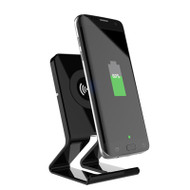 Ultra Wireless Charger Qi Inductive Charging Stand - Black