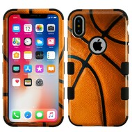 *Sale* Military Grade Certified TUFF Image Hybrid Armor Case for iPhone XS / X - Basketball