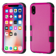 *Sale* Military Grade Certified TUFF Hybrid Armor Case for iPhone XS / X - Hot Pink