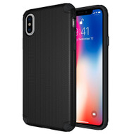 Titan Anti-Shock Hybrid Protection Case for iPhone XS / X - Black