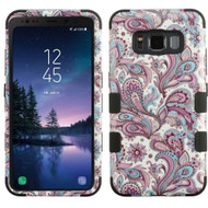 Military Grade Certified TUFF Image Hybrid Armor Case for Samsung Galaxy S8 Active - Persian Paisley