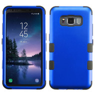 Military Grade Certified TUFF Hybrid Armor Case for Samsung Galaxy S8 Active - Blue