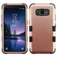 Military Grade Certified TUFF Hybrid Armor Case for Samsung Galaxy S8 Active - Rose Gold