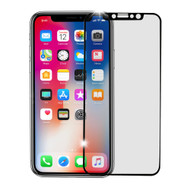 Premium Full Coverage 3D Tempered Glass Screen Protector for iPhone X - Black