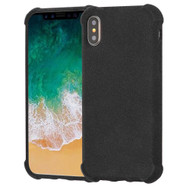 Klarity Premium Anti-Shock TPU Case for iPhone XS / X - Frosted Black