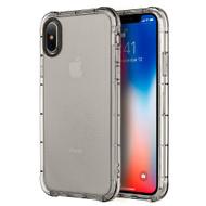 Duraproof Transparent Anti-Shock TPU Case for iPhone XS / X - Smoke