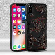 Military Grade Certified TUFF Contempo Hybrid Armor Case for iPhone XS / X - Drake