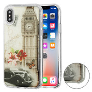 Air Cushion Shockproof Crystal TPU Case for iPhone XS / X - Big Ben