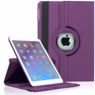 360 Degree Smart Rotating Leather Case for iPad (2018/2017) / iPad Air / iPad Air 2 - Purple
