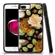 Tough Anti-Shock Triple Layer Hybrid Case for iPhone 8 Plus / 7 Plus / 6S Plus / 6 Plus - Lucky Flower