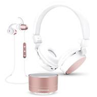 HyperGear Bluetooth Wireless Bundle Gift Set - Rose Gold